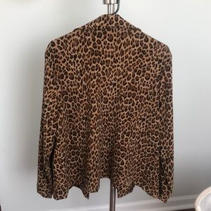 Briggs New York Jackets & Coats - Cheetah Print Soft Blazer